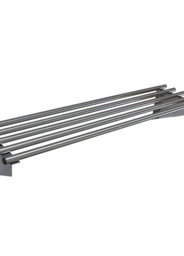 stainless steel pipe shelf