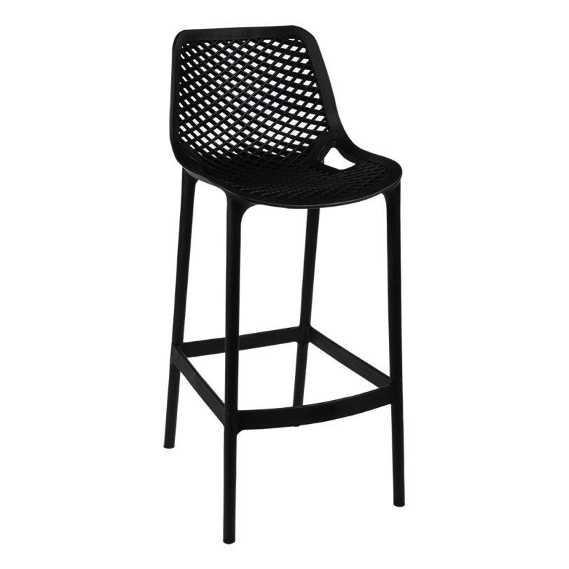 air bar stool black