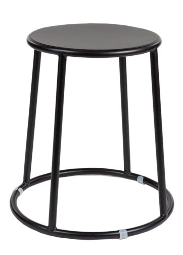 Bongo Low Stool Black