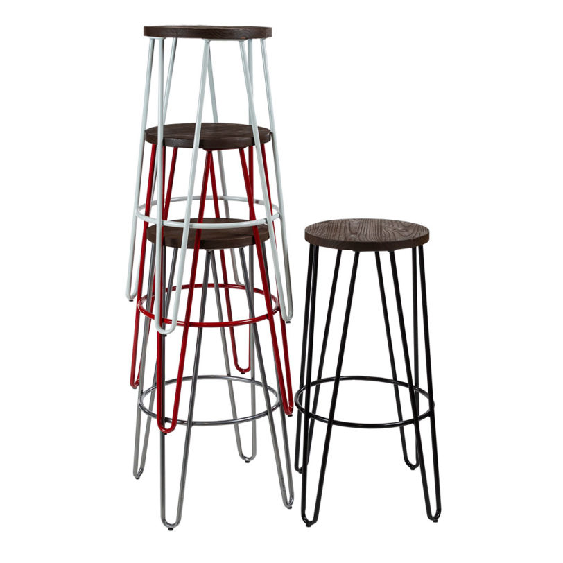 hairpin bar stool