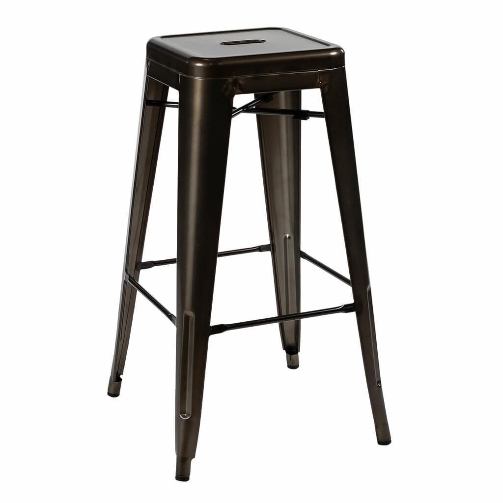 tolix bar stool rust