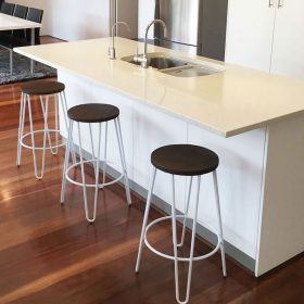 Counter Height Hairpin Stools