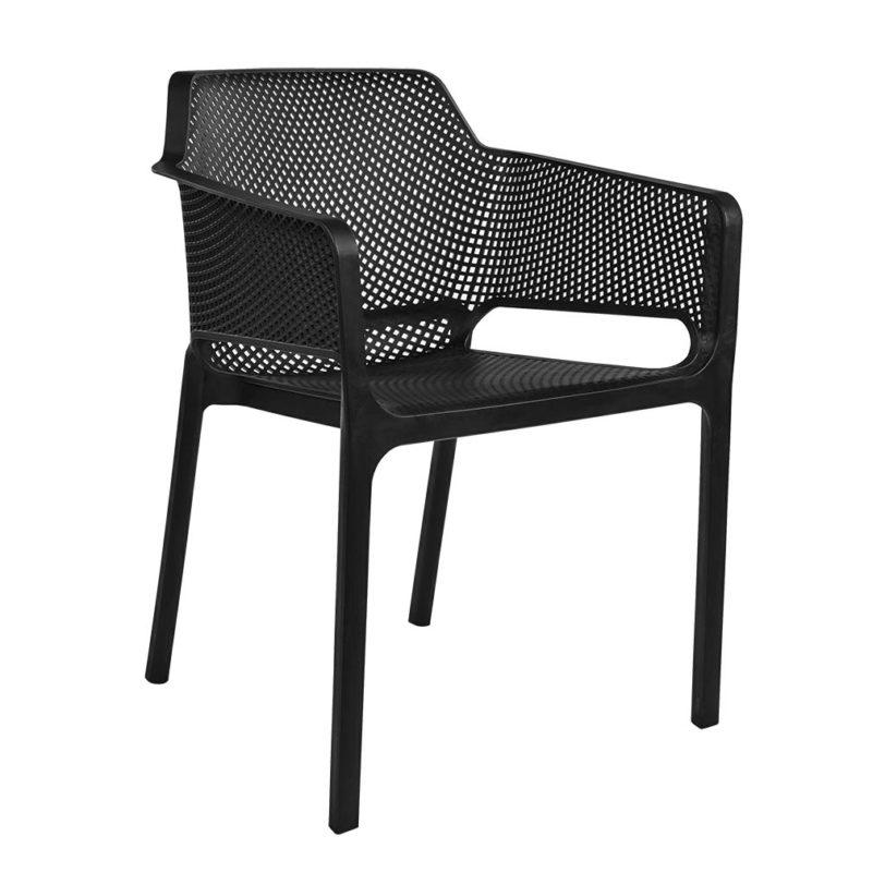 nickkonetchair black angled chairforce