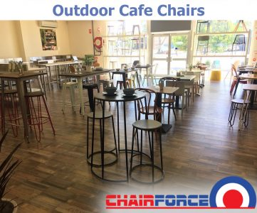 Chairforce - Outdoor Cafe Chairs