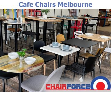 Cafe Chairs - Table Top in Melbourne
