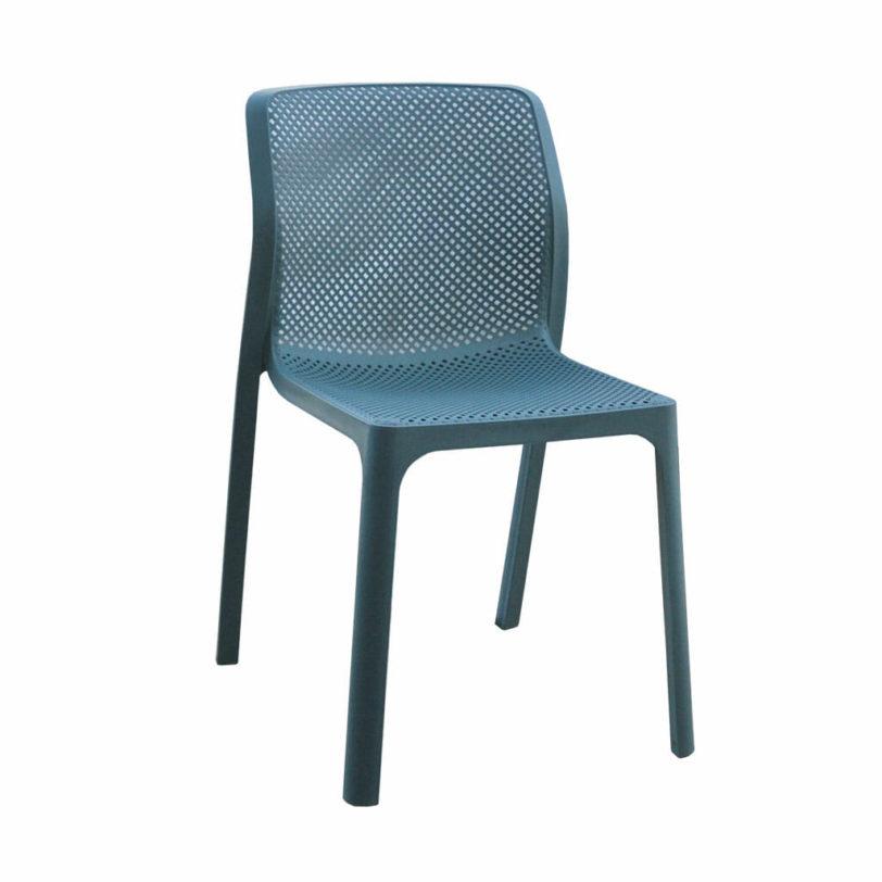 Javi chair ocean blue colour