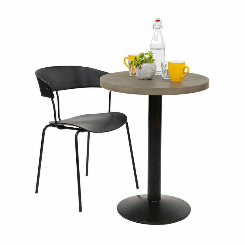 cement table top round 60cm